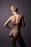 Nude sexy girl in Stockings Stock Photo