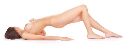 Nude woman Royalty Free Stock Photography