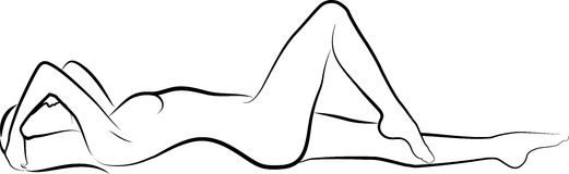 Nude woman Royalty Free Stock Photos