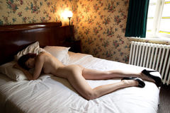 Nude woman Stock Image
