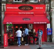 Nudel-Geschäft Dublin Lizenzfreies Stockbild