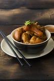 Nudillos cocidos deliciosos del cerdo Imagen de archivo libre de regalías