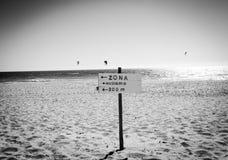 Nudismo Zona Στοκ Φωτογραφία