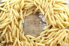 Nudlar eller pasta Royaltyfri Foto