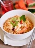 Nudlar thailändsk mat Royaltyfri Foto