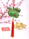 Nudo afortunado por Año Nuevo chino Imágenes de archivo libres de regalías