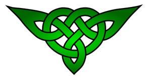 Nudo céltico del triquetra Imagen de archivo libre de regalías