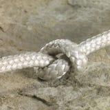 Nudo de la cuerda Foto de archivo libre de regalías