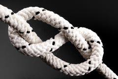Nudo de la cuerda Imagen de archivo libre de regalías