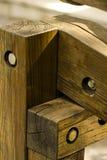 Nudo de madera Imágenes de archivo libres de regalías