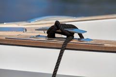 Nudo de Yatch en el infante de marina fotos de archivo