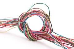 Nudo del alambre Fotografía de archivo libre de regalías