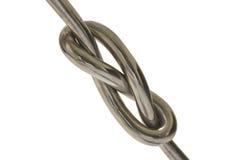 Nudo del hierro Imagen de archivo libre de regalías