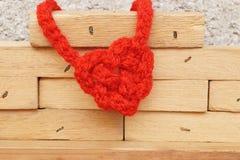 Nudo en forma de corazón Imagen de archivo libre de regalías