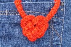 Nudo en forma de corazón Fotos de archivo