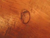 Nudo en la madera de madera Fotos de archivo