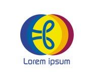 Nudo Logo Design Concept Fotografía de archivo