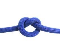 Nudo por todo lo alto en cuerda que sube foto de archivo libre de regalías