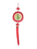Nudo y jade chinos Guanyin Fotos de archivo libres de regalías