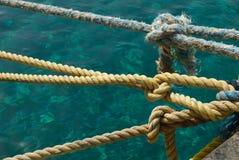 Nudos del marinero imagen de archivo libre de regalías