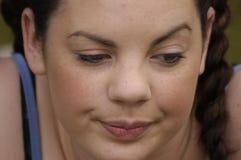 nudziarska twarz obraz stock