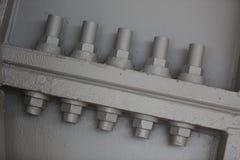 Nueces de la ayuda del edificio de Leadenhall Imagen de archivo