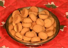 Nueces de la pimienta Fotografía de archivo libre de regalías