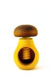 Nueces de los vicios como seta de madera Imagen de archivo libre de regalías