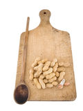Nueces de mono, cacahuetes, cacahuetes imágenes de archivo libres de regalías
