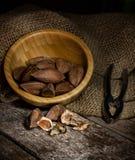 Nueces de Pili de las Filipinas Fotos de archivo libres de regalías