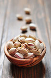 Nueces de pistacho Fotos de archivo libres de regalías