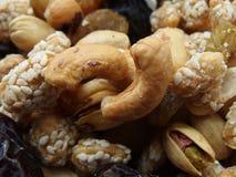 Nueces frescas del mercado preparado imagen de archivo libre de regalías