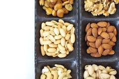 Nueces mezcladas clasificadas Foto de archivo
