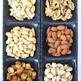 Nueces mezcladas clasificadas Imagen de archivo