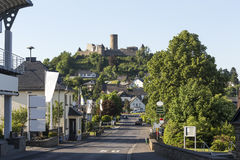 Nuerburg castle germany Royalty Free Stock Images