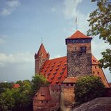 Nuernberg Burg Royalty Free Stock Photos