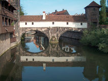 Nuernberg - Germany. Digital photo of the historic part of Nuernberg - germany Stock Photography