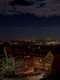 Nuernberg at night Royalty Free Stock Photos
