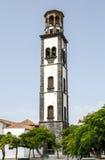 Nuestra夫人de la康塞普西翁角教会在圣克鲁斯de特内里费岛 免版税库存图片