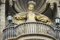 Nuestra夫人de la默塞德大教堂  免版税库存照片