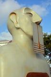 Nuestra escultura de los silencios Imagen de archivo