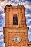 Nuestra señora Del Consuelo kościół w Altea kwadracie zdjęcie royalty free