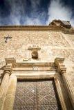 Nuestra señora De Los angeles asuncià ³ n farny kościół w Caminreal, Teruel Fotografia Stock