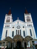 Nuestra señora de la catedral de la reparación, ciudad de Baguio imagen de archivo