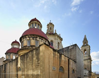 Nuestra señora de la iglesia parroquial sagrada del corazón en Sliema (Tas-Sliema) Isla de Malta foto de archivo