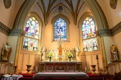 Nuestra señora de las victorias iglesia, Boston, los E.E.U.U. fotos de archivo libres de regalías