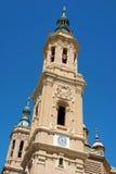 Nuestra señora del pilar en Zaragoza Foto de archivo libre de regalías