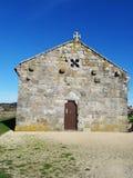 Nuestra Señora Lanzada church - North Coast Spain Stock Image