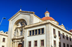 Nuestra Senora de Gracia Church en Alicante, España Imágenes de archivo libres de regalías
