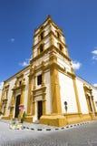 Nuestra Senora de la Soledad Church. Nuestra Senora de la Soledad Church in Camagüey, Cuba. It was built during the 18th century and today is the building royalty free stock photo